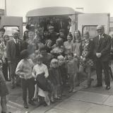 New Barnsley evacuees at Grosvenor Hall (June - July 1970)